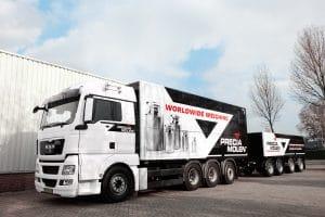 Precia Molen vrachtwagen voor keuringen