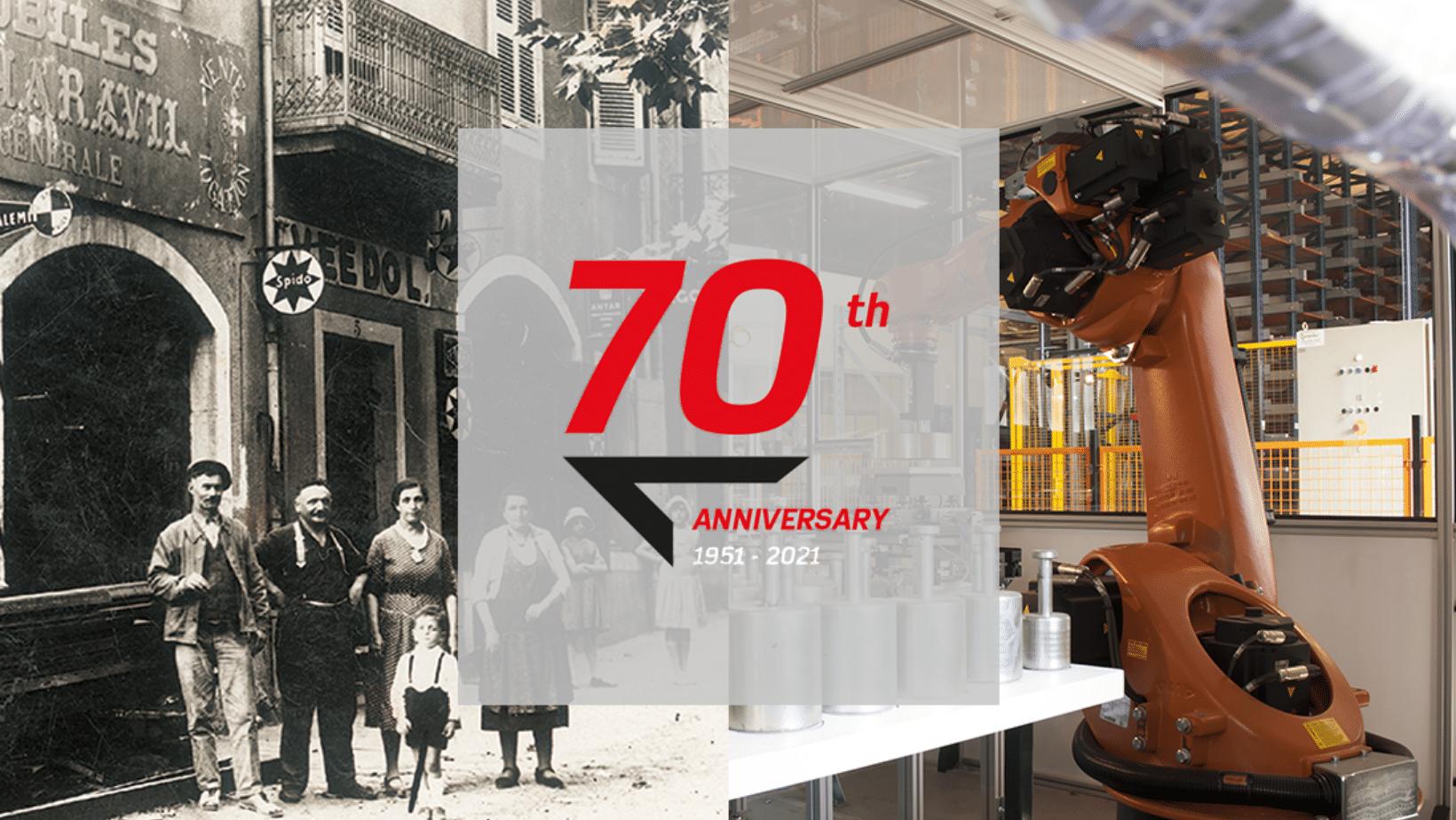 Precia Molen viert 70e verjaardag